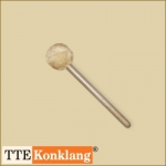 Gong beater d5Hm5 - with beech wood handle Ø 50 mm soft