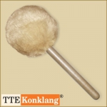 Gong beater d2HLm1 - with beech wood handle (heavy & long)