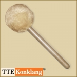Gong beater d3HLm2 - with beech wood handle (heavy & long)