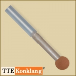 Singingbowl rubber with ball mallet