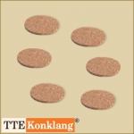 Cork Coaster KU9 (6 pieces) for Singing Bowls